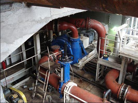 Applicaiton of XPA slurry pump