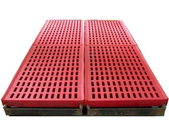 Wear Resistant Rubber Deck Xinhai Wear Resistant Rubber